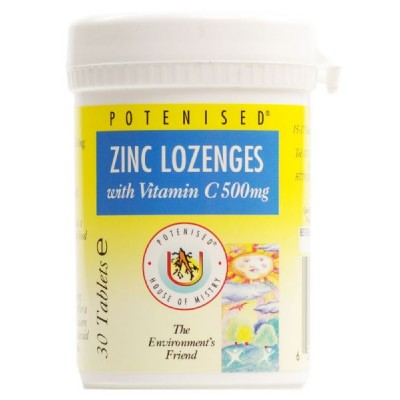 Potenised ® zinc with Vit C lozenges (30 Tabs)