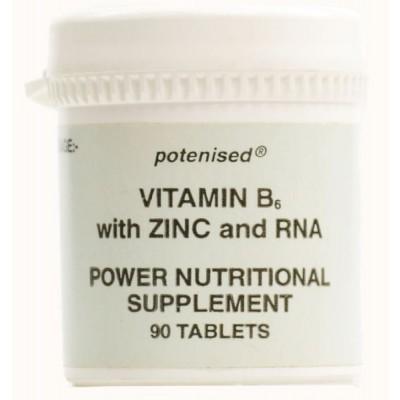 Vitamin B6 with zinc and RNA