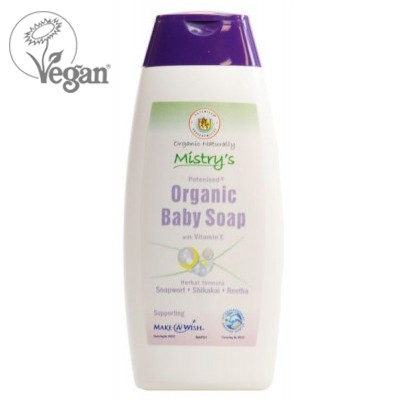 Mistry's Potenised® Organic Baby Soap with Vitamin E (200ml)