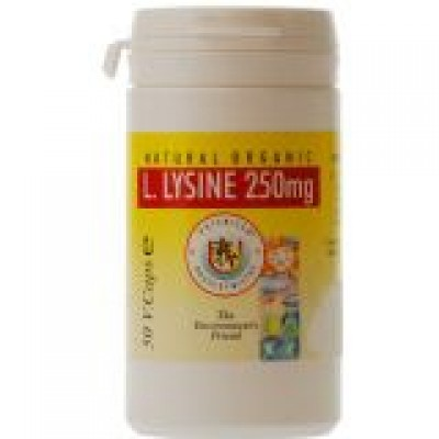 L.Lycine, 250 mg (50 Veg caps)
