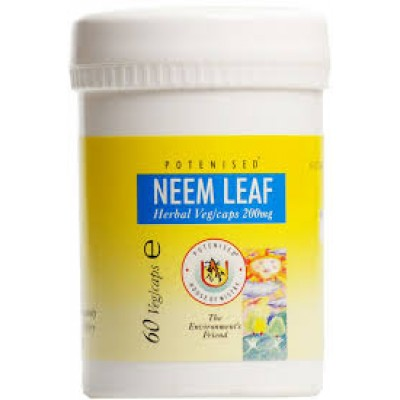 Neem leaf herbal capsules