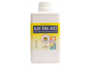 Aloe juice with tulsi and saw palmeto - (1 Litre)