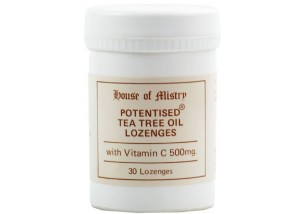 Potenised ® Tea Tree Lozenges with Vit C (30 Lozenges)
