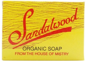 Mistry's Organic Sandalwood Bar Soap (100g)
