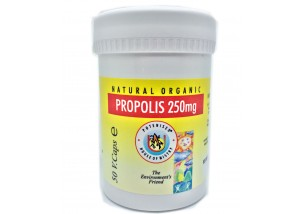 Propolis Capsules, 250mg (50 Veg Caps)