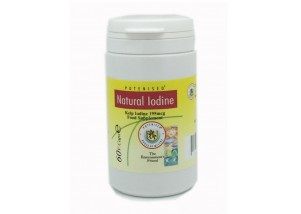 Natural Iodine (Kelp Source) (60 Veg Caps)