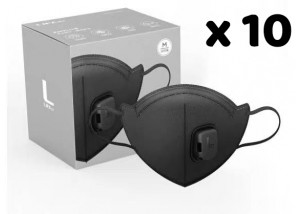 N95 Mask - Black (pack of 10)