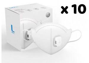 N95 Mask - White (pack of 10)