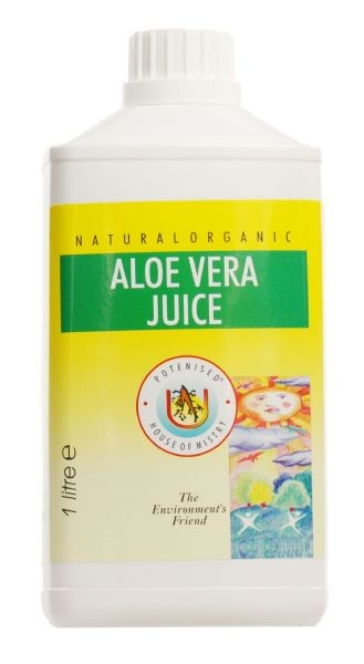 Aloe juice 100% stabilised (1 Litre)
