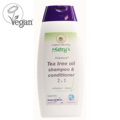 Mistry's Potenised® Tea Tree Shampoo & Conditioner 2 in 1