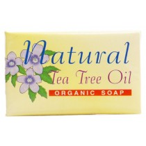 Mistry's Organic Tea Tree Bar Soap (100g)