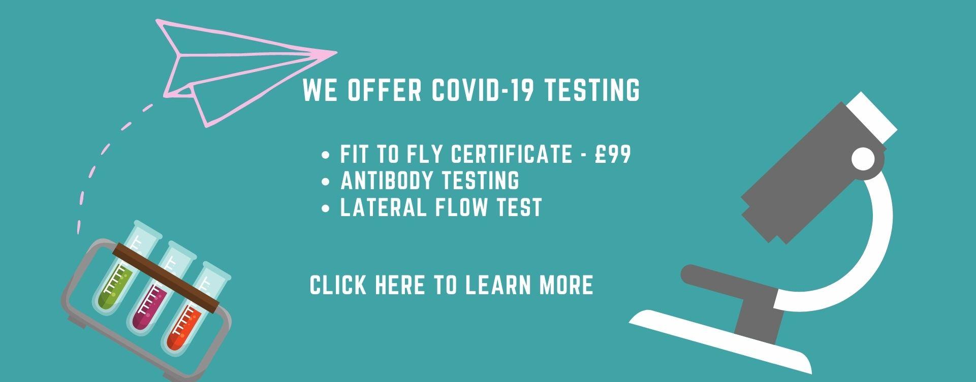 COVID-19 Covid Testing Hampstead
